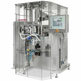 Bagging machines for food and medical devices