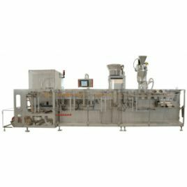 BOSSAR Horizontal form-fill-seal machines for pouches and sachets