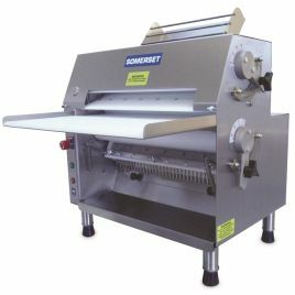 """DOUGH ROLLERS - FRONT OPERATED (Docks up to 18"""" or 46cm, and sheets dough up to 20"""" or 51cm)"""