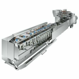 Fuji In-line feeders for flow wrappers