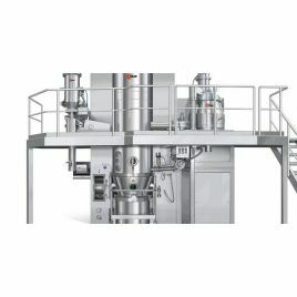 Detergent processing machines