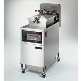 Henny Penny PFE 500 with 8000 Computron Control Four Head Pressure Fryer