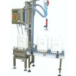 HUNTER Gravimetric liquid filling machines