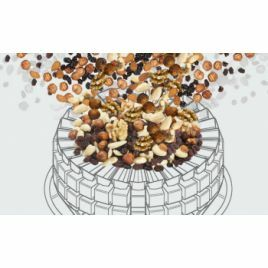 Multihead weighers for nuts and dried fruit