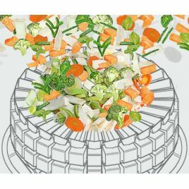 MULTIPOND Multihead weighers for salads and chopped vegetables