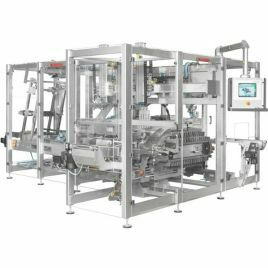 ROVEMA Case packers, case erectors, tray packers