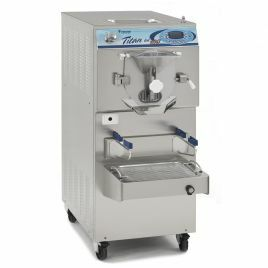 LCD Electronic Horizontal Batch Freezer TITAN 100 LCD - Water Cooled - 3 Phase