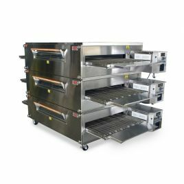 XLT Conveyor Oven 3870 - Gas  - Triple Stack